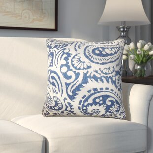 Hudepohl Paisley Throw Pillow (Set of 2)