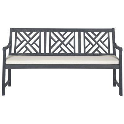 Stanwich Acacia Garden Bench Color: Ash Gray/Beige by Alcott Hill