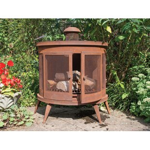 Kharbanda Wood Burning Chiminea By Sol 72 Outdoor