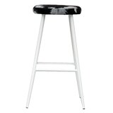 Ilda Cow Print 29 Bar Stool by Wrought Studio™