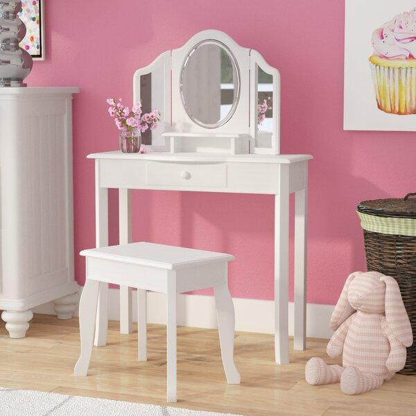 Sale alerts for  Matilda 2 Piece Vanity Set with Mirror - Covvet