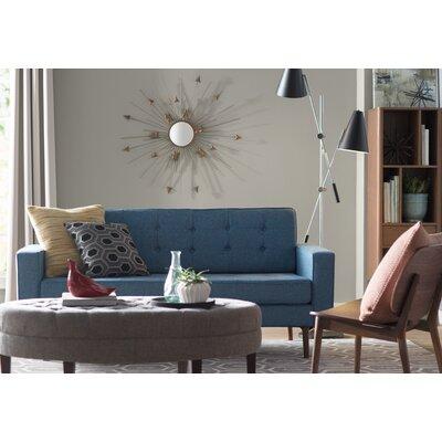 Superb Corrigan Studio Keats Tufted Cocktail Ottoman Evergreenethics Interior Chair Design Evergreenethicsorg