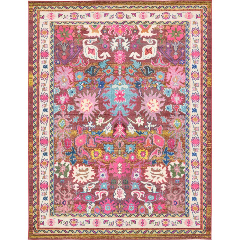 pink wayfair ca rose pdp rug bungalow area rugs iris reviews