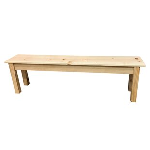 Highland Dunes Hannan Wood Bench