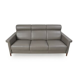 Whelchel Italian Leather Sofa Brayden Studio