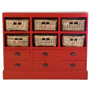 Verlene 6 Drawer Storage Accent Chest by Beachcrest Home