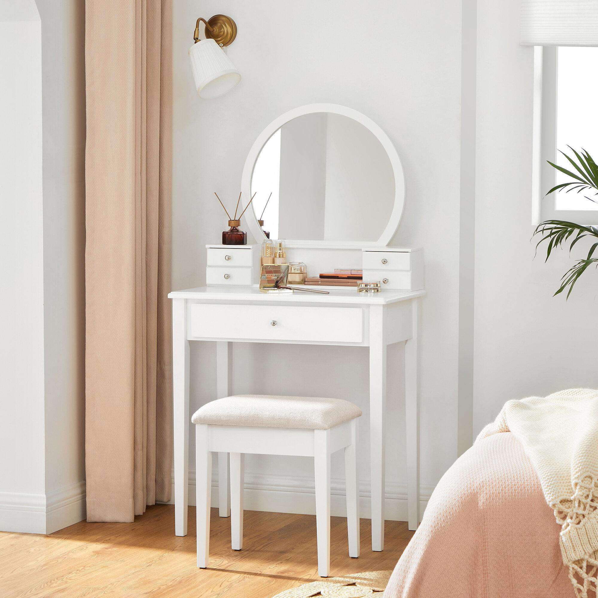 Small Bedroom Vanities You Ll Love In 2021 Wayfair