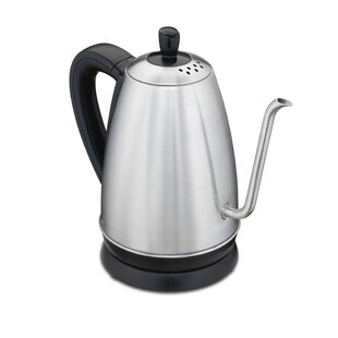 1.26 Qt. Gooseneck Stainless Steel Electric Tea Kettle