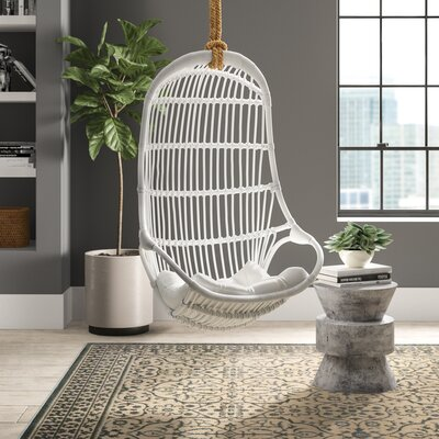 Briaroaks Hanging Rattan Swing Chair by Greyleigh Cheap