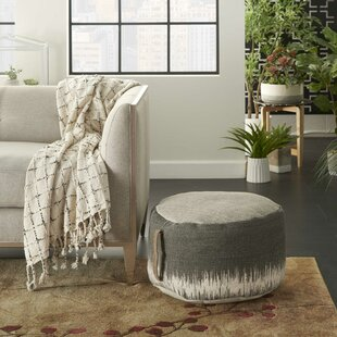 Mika Bohemian Pouf by Bungalow Rose