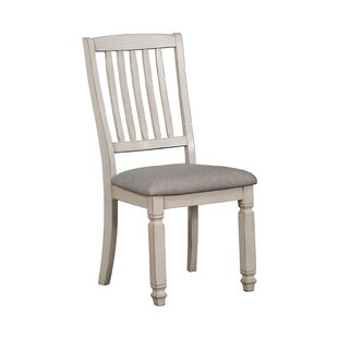 Safire Wood Fabric Padded Seat Upholstere..