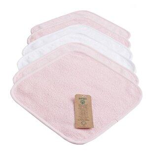 Baby Organic Natural Washcloth Towel Set (Set of 6)