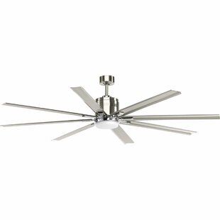 Ceiling fans sale youll love wayfair 72 bankston 8 blade led ceiling fan with remote aloadofball Image collections