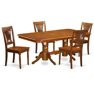 Pillsbury 5 Piece Extendable Dining Set by August Grove Top Reviews