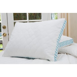 Cloud Quilted Printed Gusset Down Alternative Pillow