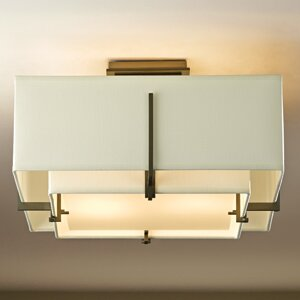 Exos 2-Light Semi Flush Mo..
