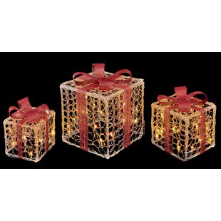 Red LED Parcels Luminary And Pathway Lights By The Seasonal Aisle