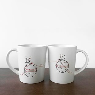 You're Worth Every Mile Couple Coffee Mug (Set of 2)