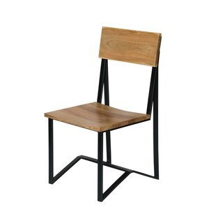 Price comparison Jayesh Solid Wood Dining Chair (Set of 2) by Union Rustic Reviews (2019) & Buyer's Guide