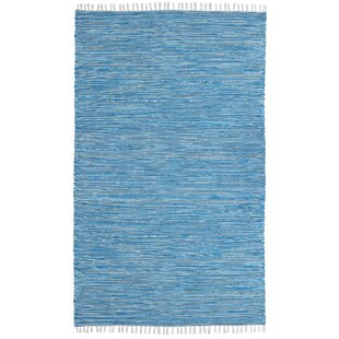 Buying Bruges Hand-Loomed Aqua Area Rug By Bungalow Rose