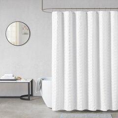 Geometric Water Repellent Shower Curtain Wayfair
