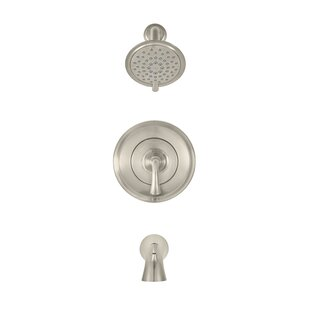 Patience Diverter Tub and Shower Faucet with Valve By American Standard