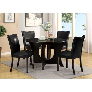 Gleaming 5 Piece Dining Set Hokku Designs