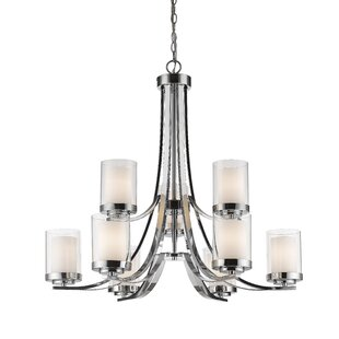 Chrome Finish Global Inspired Chandeliers You Ll Love In 2021 Wayfair