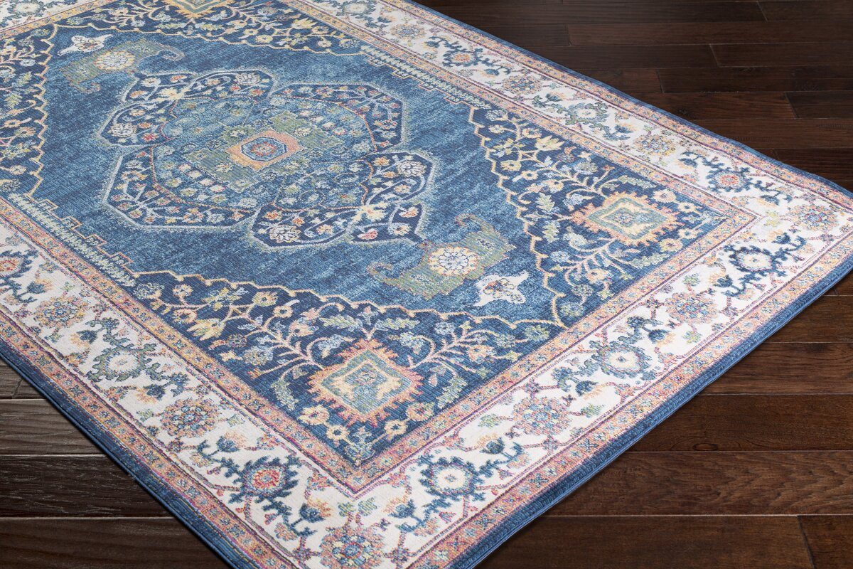 safavieh rugs bright blue x sevilla rug by area detail