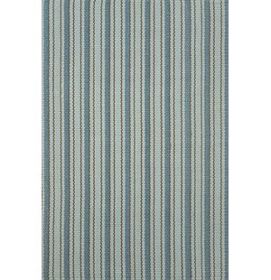 Woven Hooked Blue Indoor/Outdoor Area Rug
