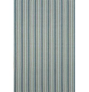 Woven Hooked Blue Indoor/Outdoor Area Rug