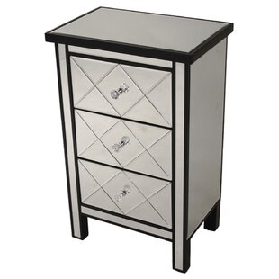 Nella 3 Drawer Accent Chest by House of Hampton