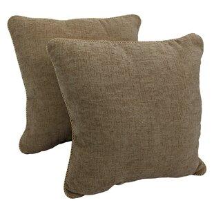Sakai Corded 2 Piece Chenille Throw Pillow (Set of 2)