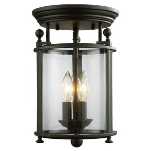 Coupon Lucah 3-Light Flush Mount By Darby Home Co