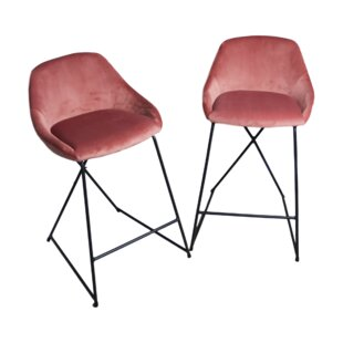 Malonne 46cm Bar Stool (Set Of 2) By Canora Grey
