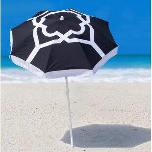 Oceana Strom Beach Umbrella by SittinPrettyLLC