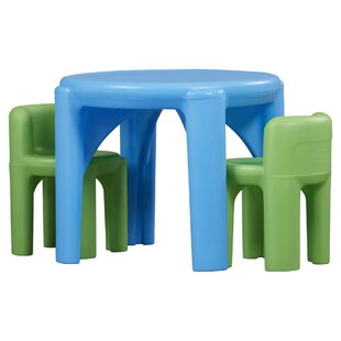 Compare Kids 3 Piece Writing Table & Chair Set ByLittle Tikes