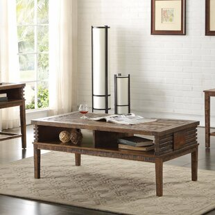 Find Polak Coffee Table with Storage Union Rustic