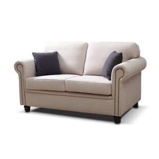 Darby Home Co Britney Traditional Loveseat