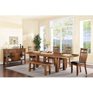 Caldervale Rustic Solid Wood Dining Table