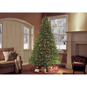 Pre Lit Christmas Trees You'll Love Wayfair - Artificial Christmas Tree 9 Ft