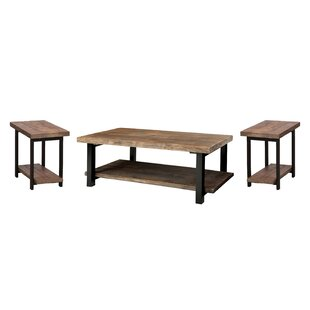 Veropeso 3 Piece Coffee Table Set