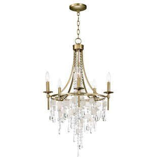 Bungalow Rose Pinheiro 5-Light Chandelier