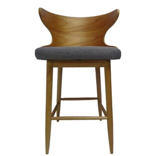 Overturf Mid Century Modern 30 Bar Stool (Set of 2) by George Oliver