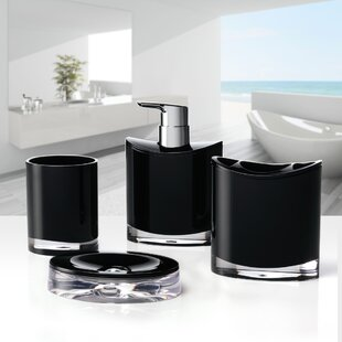 Immanuel Optic 4-Piece Bathroom Accessory Set