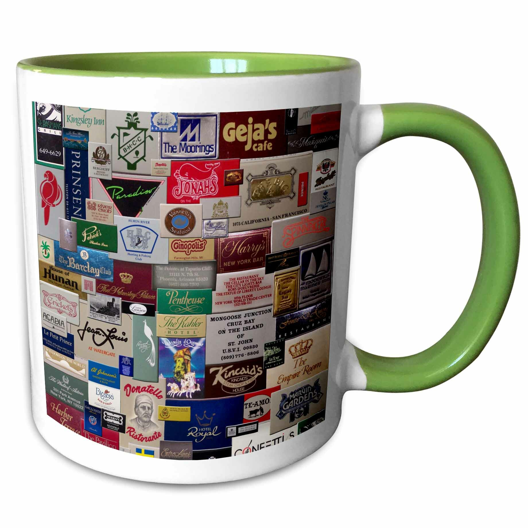East Urban Home Boynton Match Books Digital Collage Of A National And International Match Book Collection Coffee Mug Wayfair