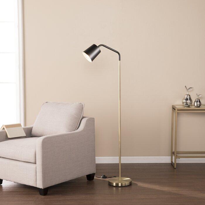 Geometric 58 arched arc floor lamp