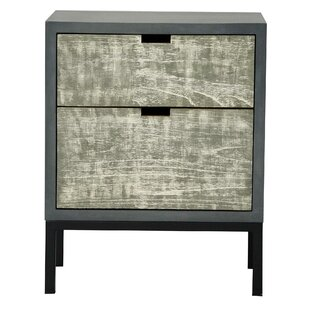 Best Plympt 2 Drawer Accent Chest ByWilliston Forge