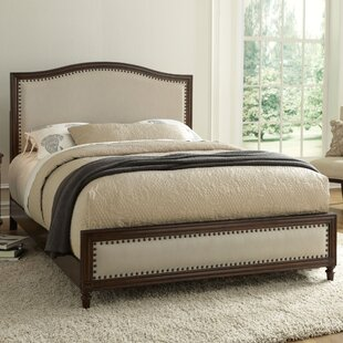 Harvard Upholstered Panel Bed by Greyleigh