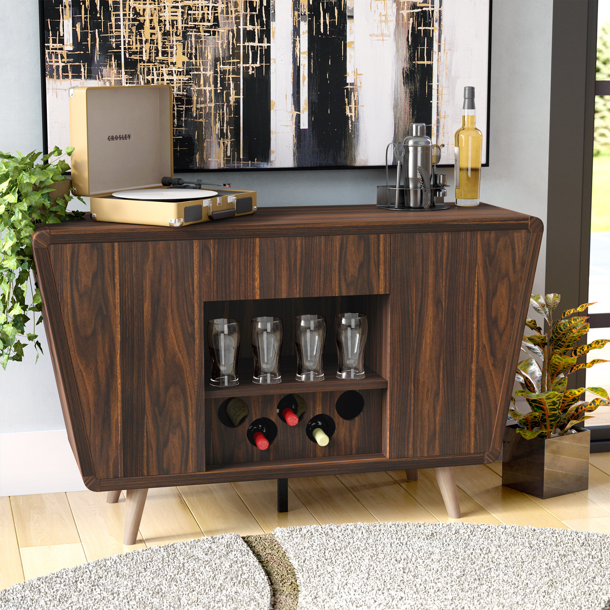 Image of: Mid Century Modern Sideboards Buffets You Ll Love In 2020 Wayfair